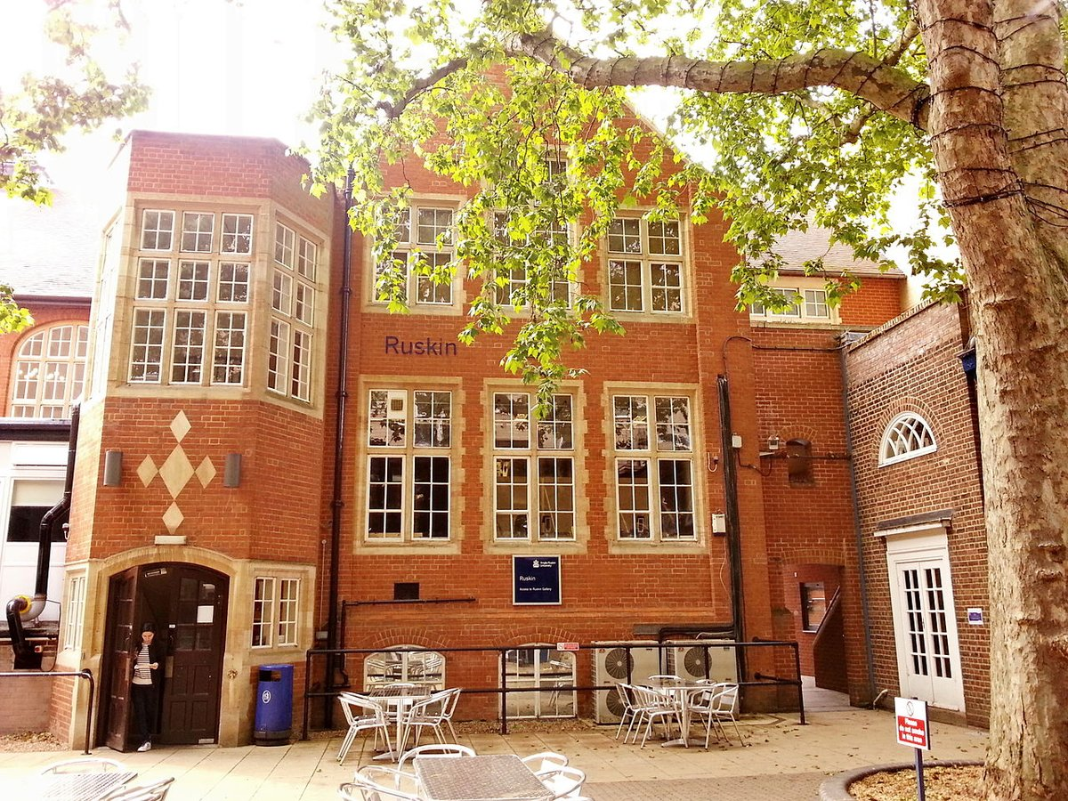 Ruskin Building is part of the original 1858 institutional compound from where the modern day Anglia Ruskin University evolved. It is home to Mumford Theatre and Ruskin Gallery, two of the major on-campus exhibition venues of the university